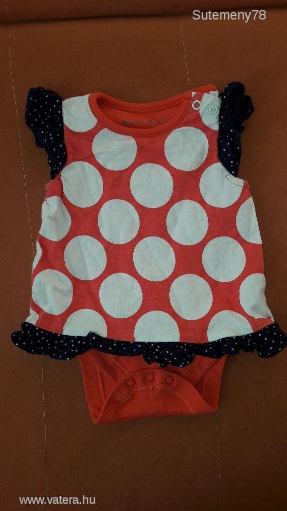 NUTMEG 3-6 hós kislány gyönyörű ruha body - 500 Ft - Nézd meg Te is Vaterán - Rövid ujjú  body - http://www.vatera.hu/item/view/?cod=2494991540