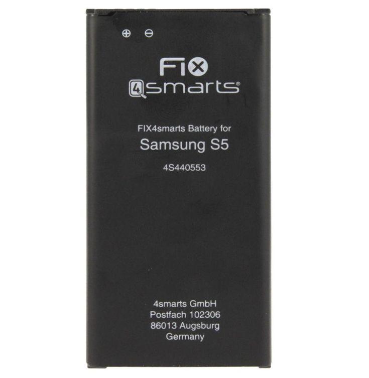FIX4smarts Battery - качествена резервна батерия за Samsung Galaxy S5 (3.85V, 2800mAh) (EB-BG900BBE): Производител:FIX4smarts… www.Sim.bg