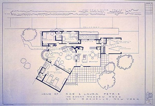 Petrie house floor plan