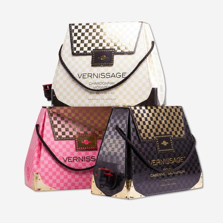 Wine Handbags - Wine and Design