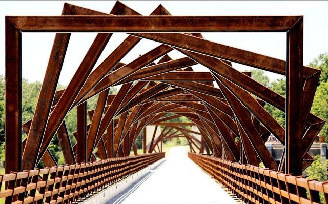 Puente en Madrid, Iowa (EE UU)