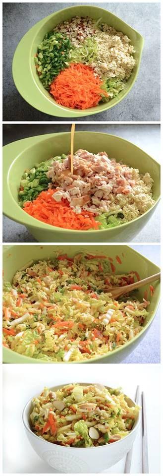 Crunchy Chinese Chicken Salad Recipe