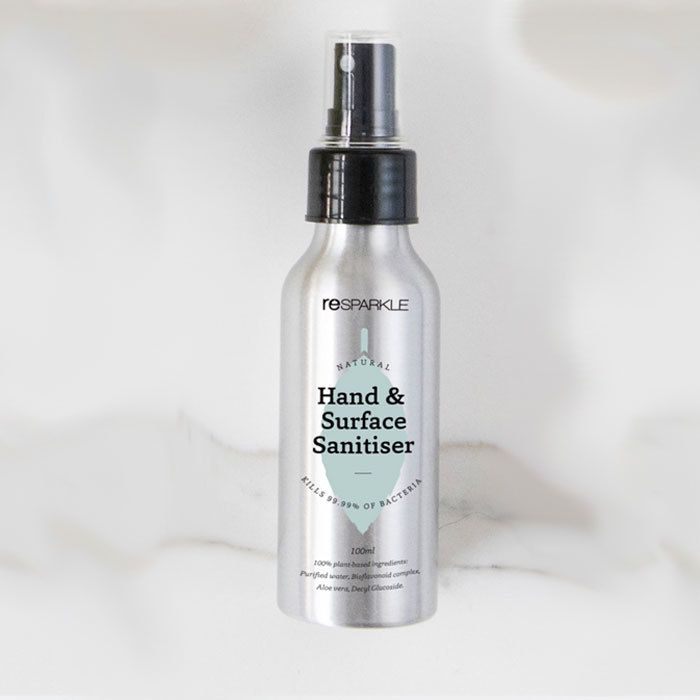 Resparkle Natural Hand Surface Sanitiser Surface Alcohol Free