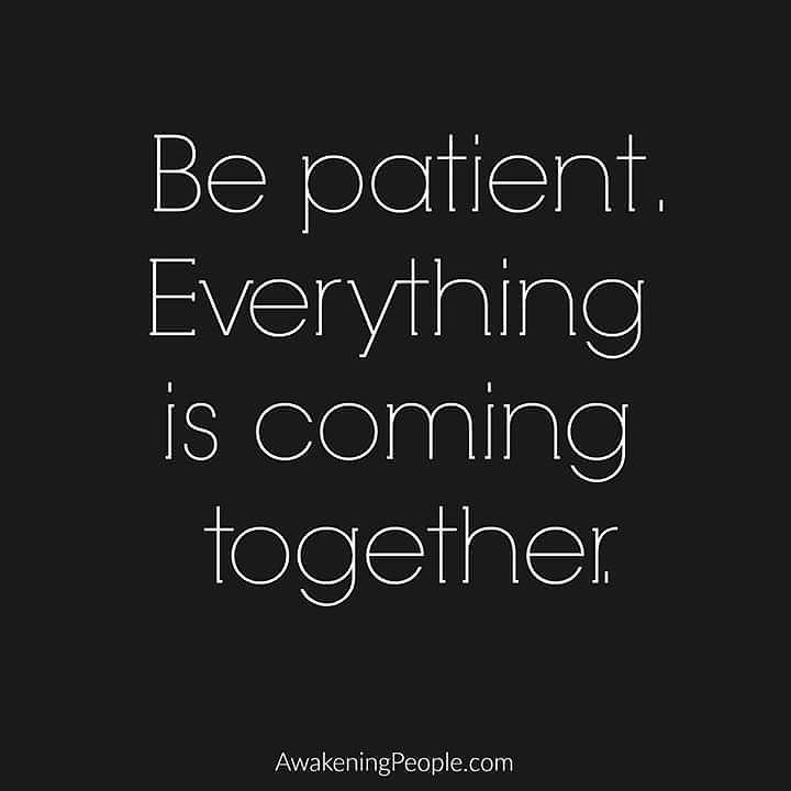 Praying, hoping, waiting, and loving