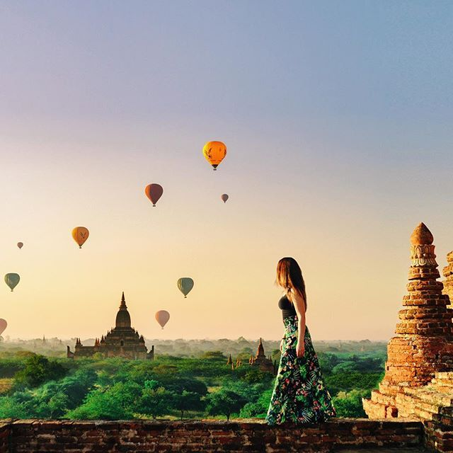 There is no word to describe the beauty of Bagan. Im feeling lucky to begin the new year by discovering this amazing destination. If you think to visit Myanmar dont esitate this will change your life.