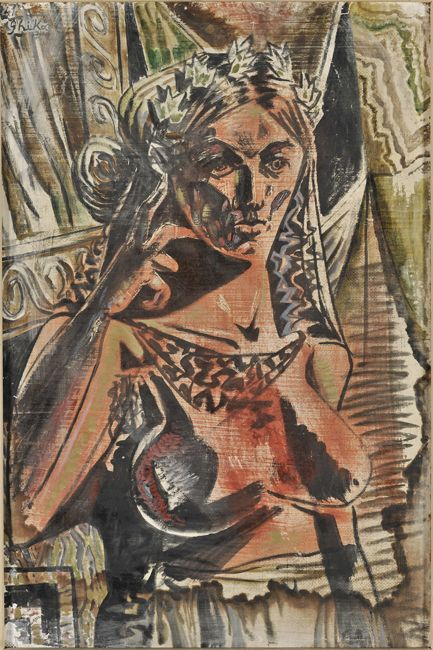 Nikos Hatzikyriakos-Gikas, 1941 - Thinking figure - National gallery