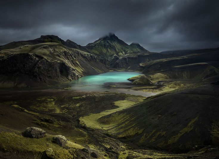 Alex Nail of the UK took the mountain award for this photo of the Southern Highlands in Iceland.