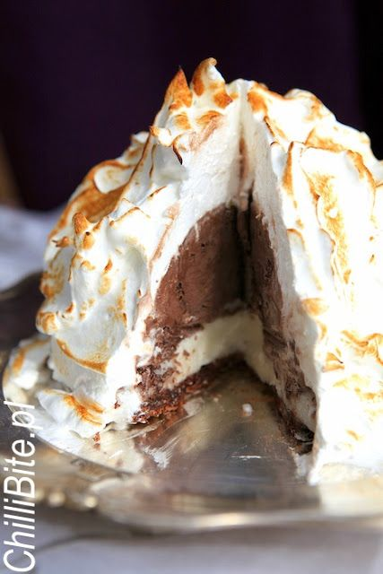 Baked Alaska - obłędny deser lodowy!