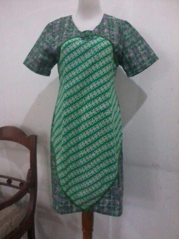 Batik, kombination, tunic/dress, size M/L, high quality. Direct wa 08812775835