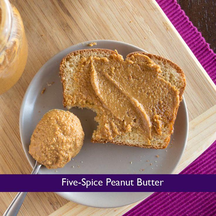 Five-Spice Peanut Butter