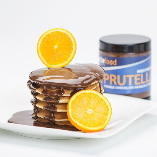 Chocolate Orange Prutella - Yep, we've taken our 5 star customer fave and twisted it with the fab addition of natural orange flavouring – mmmmm – in fact, here at HQ we think it tastes just like your fave segmented chocolate orange.