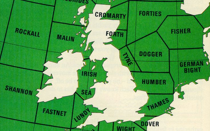 Adventures of the Blackgang: British shipping weather forecast areas From...