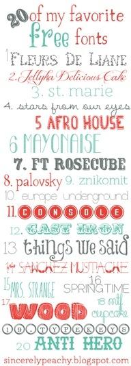 20 free fonts - dafont.com