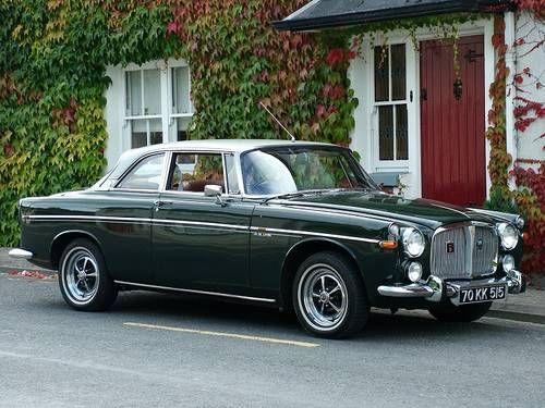 """Rover P5B Coupe """"2 Door"""" (1970)"""