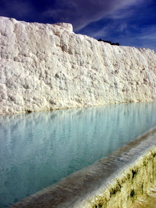 Turkey mineral deposits and springs