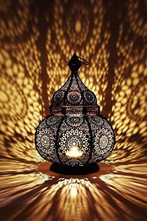 Orientalische Laterne Aus Metall Ziva 30cm Orientalisches