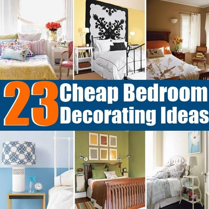 36 Beautiful And Easy Diy Home Decorating Ideas Cheap Bedroom