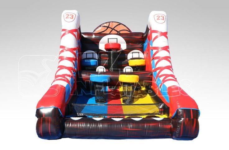 Basketball shooting game, replicating Michael Jordan's. The right bouncer for the little baller in your life.