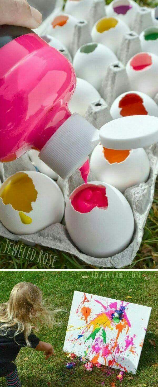 I need to do this with the kids this Easter!
