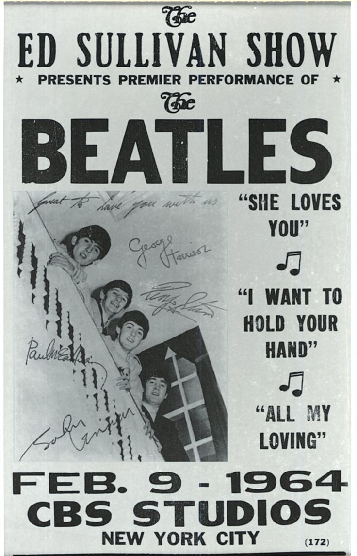 """""""In the weeks leading up to the performance, several Beatles records had already hit number one on the U.S. charts, and the radio airwaves were saturated with their tunes. The delirium and ground swell of anticipation surrounding The Beatles' arrival from England had not been seen around since Elvis Presley on The Ed Sullivan Show in 1956. But even that experience could not have prepared the Sullivan staff and the New York City authorities for what was about to happen. """""""