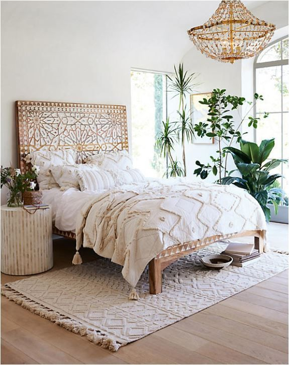 Layering Rugs Under Beds | Centsational Girl