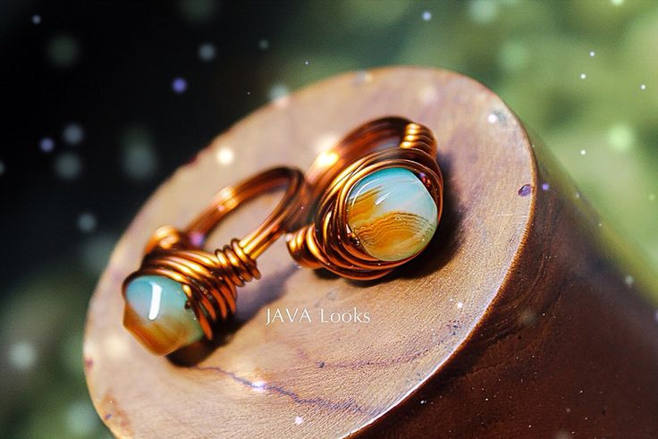 We're kinda almost run out of this rings, wire wrapped rings with borneo stones, thank you for your order  Beauty...its like snowflakes in wonderland...  #fashion #jewelry #macro #photography #handmade #JAVALooks