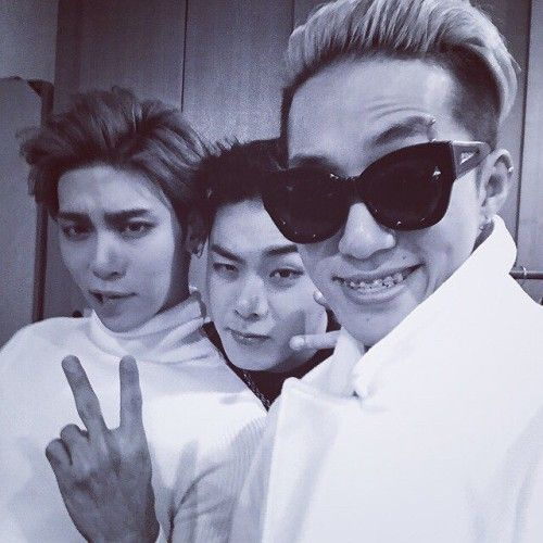 Jung Hunchul/Iron with Jonghyun and Zion.T