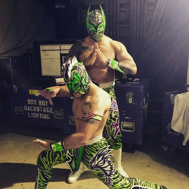 The Lucha Dragons.