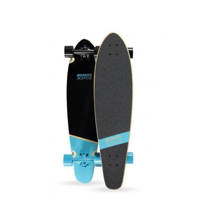 """2015 Brunotti Ben Longboard 36"""" cruiser - Blue  Dit is Ben! Dit allround longboard is een speels en snel board. Het board is geschikt voor downhilling en old skool tricks. Zoek je een comfortable longboard waarme je nog steeds een kickflip kan maken is de Ben het board voor jou."""