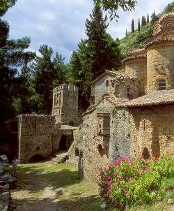 GREECE CHANNEL | Mystras Lakonia Peloponnese - Greece
