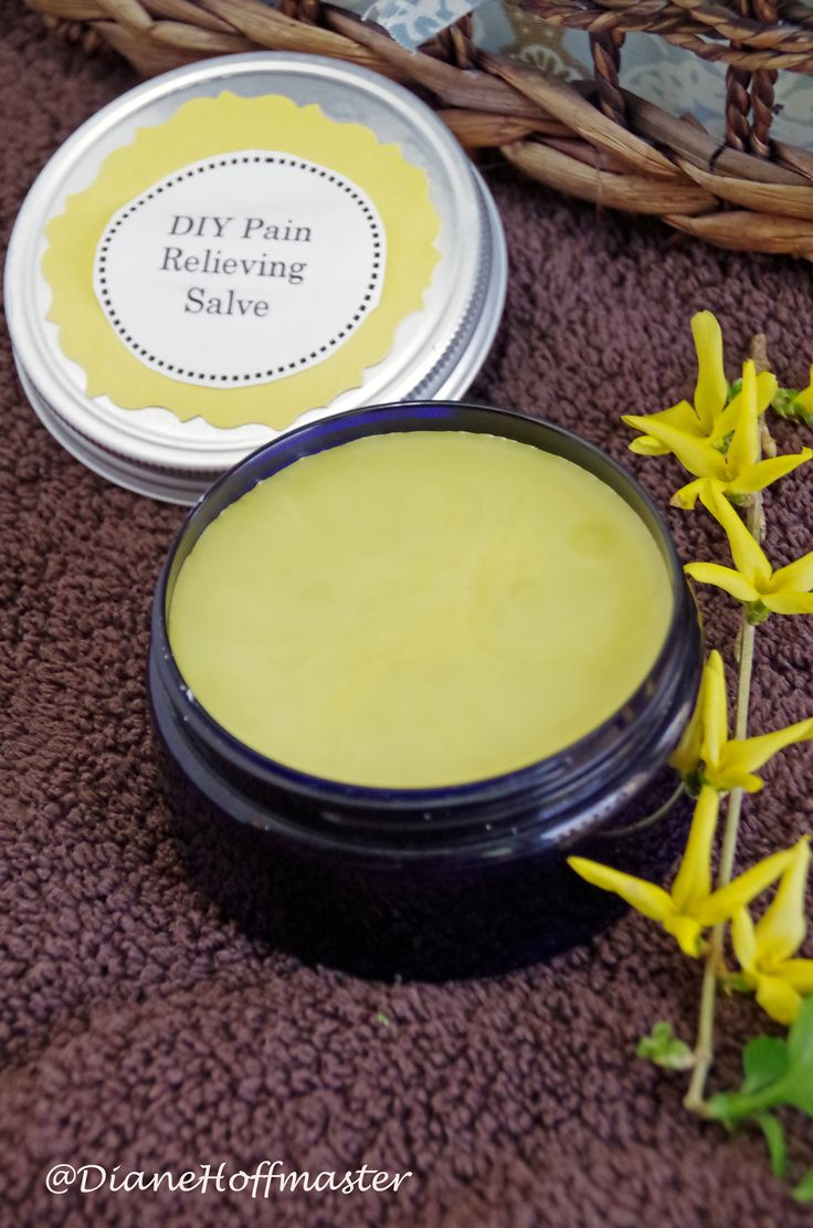All Natural DIY Pain Relieving Salve - Turning the Clock Back