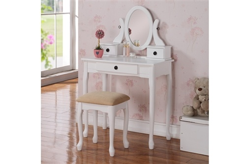 1000 ideas about white vanity table on pinterest vanity for Bedroom furniture 90036