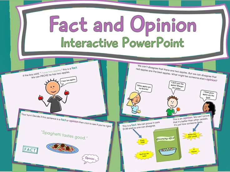 Fact and Opinion Interactive PowerPoint. Not your average PowerPoint. It's full of animations, quizzes, and games.