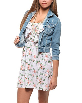 rue21 Denim Jacket. $26.99 cute outfit .. time for a rue 21 fix! lol