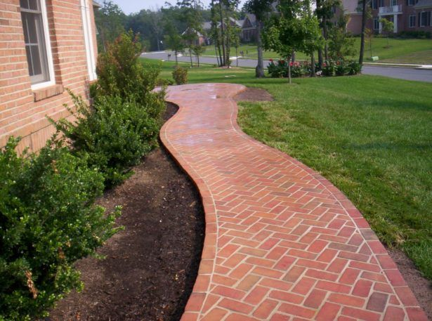 17 best ideas about pavers over concrete on pinterest for Affordable walkway ideas