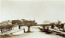East Maitland Railway Bridge, East Maitland, NSW ca.1911. v@e.