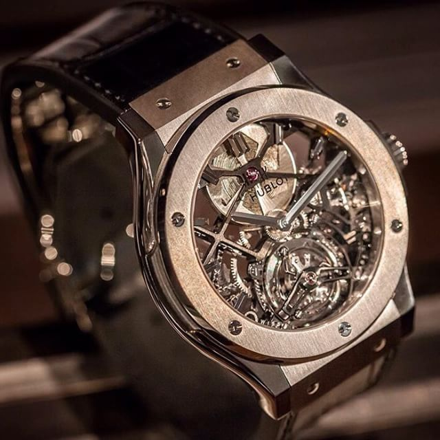 @hublot Skeleton Tourbillon Classic Fusion available at Hublot Boutique Frankfurt right now! Contact us at frankfurt@hublot.com. Many thanks to our photographer @nikita_kulikov_photography #Hublot #hublotista #Hublotwatch #instawatch #artoffusion #classicfusion #tourbillon #swissmade #watches #wristi #watchfam #watchmaking #hublotistaclub #watchanish #frankfurt #fashion #LimitedEdition #luxury #lovehublot #style #hublotboutique by hublot_frankfurt
