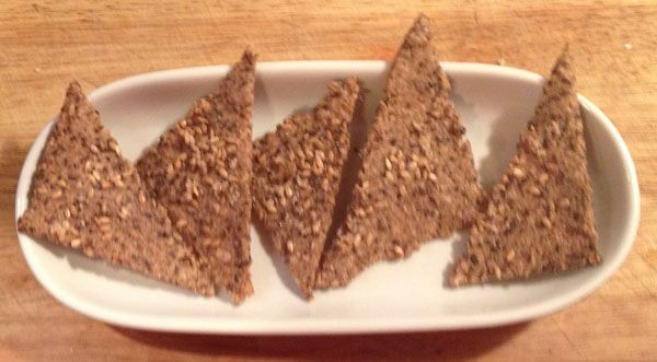 Crispy Flatbread Crackers | Live Toxic Free- maybe similar to Brio's crackers that I love... ?