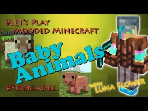 Let's Play Modded Minecraft, Baby Animals Mod