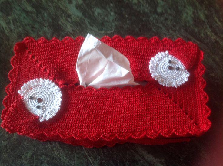 Santa tissue box 2