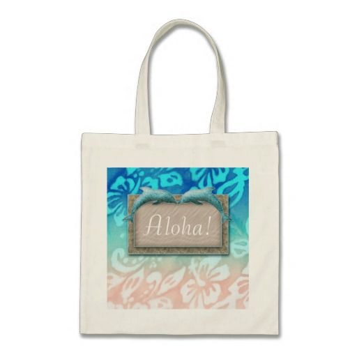 Hawaii Dolphin Beach Wedding Blue Ocean Tote Bags SAVE 14.92% ... just click to see details!! reg: $16.95