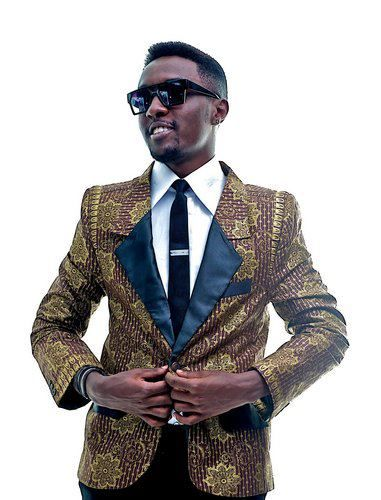 Frankie Killing it in an African print blazer!!! #Muse