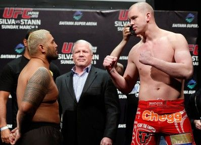 mark hunt v stefan struve: pre-fight UFC