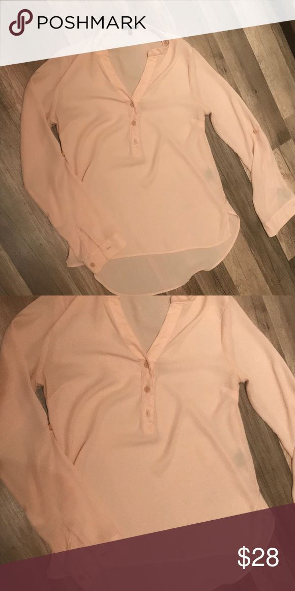 Neutral Blouse Pairs great with jeans or slacks... dress down or up. Loose firing great under sweaters or alone Tops Blouses