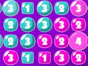 Free Online Puzzle Games, Outwit your opponent and take over the board in this fun bubble game!  Click on the bubble to inflate it to the maximum strength.  Once it pops it will increase the value of the bubbles around it.  Get a higher value than your opponent to take over his bubbles too!, #bubble #board #strategy #fun