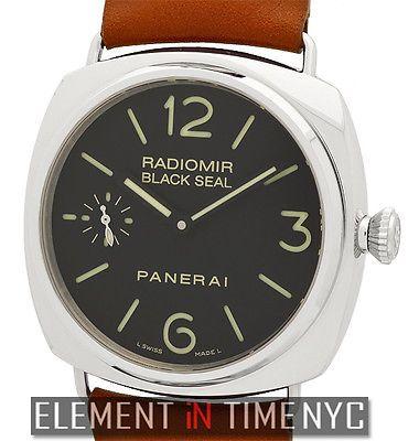 Officine Panerai Radiomir Black Seal 45mm Stainless Steel PAM 183 NIB