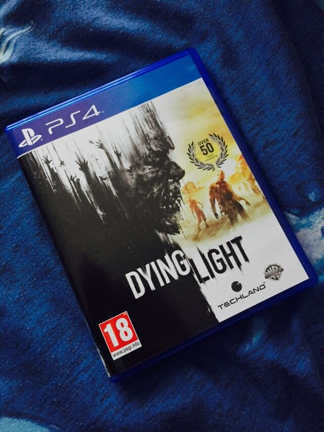 Dying Light for PS4. Really love this game.