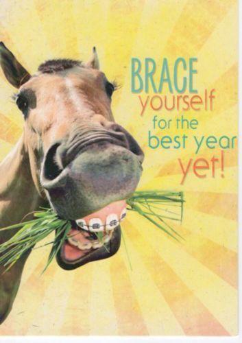 Western Home Decor Birthday Card Matching Envelope Horse Card