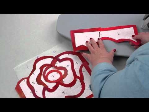Quilt artist Rose Hughes shows you how to machine appliqué in a new way: Fast-Piece Appliqué!