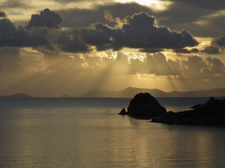 Golden #Patmos this winter morning #Greece #island @VisitGreecegr | photo: P. Munos